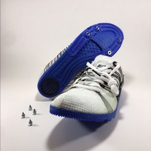 Nike Zoom Matumba 2 Track&Field Shoes White Blue